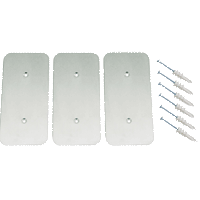 AisleLok Rack Gap Panel Striker Plate Kit