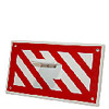 Floor Puller/Lifter Mounting Plate - Striped