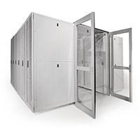 Elite Dual Hinged Doors - End Aisle Doors