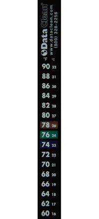 Self Adhesive Temperature Strips