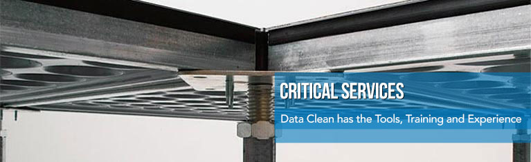 Data Clean has the Tools, Training and Experience