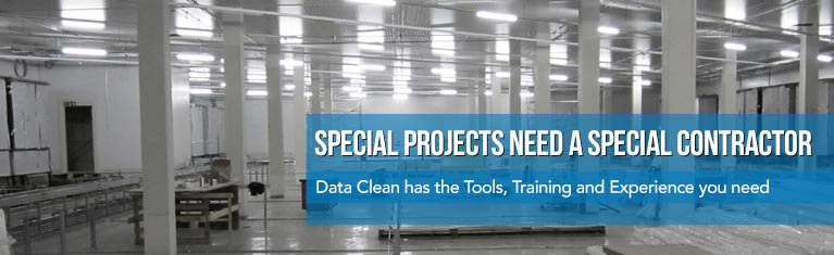 Data Clean has the Tools, Training and Experience you need